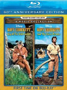 King of the Wild Frontier (1955) + Davy Crockett and the River Pirates (1956) + Extras