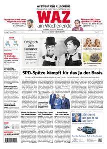 WAZ Westdeutsche Allgemeine Zeitung Oberhausen-Sterkrade - 13. Januar 2018