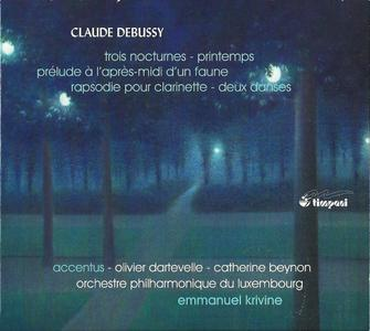 Emmanuel Krivine, Orchestre philharmonique du Luxembourg - Claude Debussy: Orchestral Works, Vol. 2 (2012)