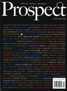 Prospect Magazine - October 2000
