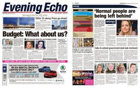 Evening Echo – October 10, 2018