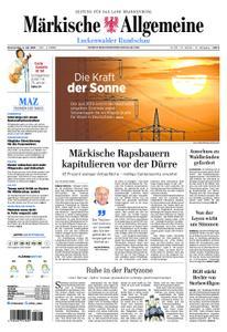 Märkische Allgemeine Luckenwalder Rundschau - 04. Juli 2019