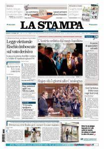La Stampa Imperia e Sanremo - 12 Ottobre 2017