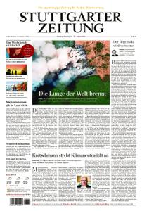 Stuttgarter Zeitung Stadtausgabe (Lokalteil Stuttgart Innenstadt) - 24. August 2019