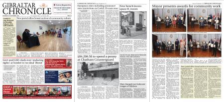 Gibraltar Chronicle – 19 September 2020
