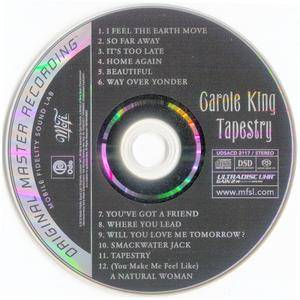 Carole King - Tapestry (1971) [MFSL, UDSACD 2117]