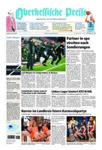 Oberhessische Presse Marburg/Ostkreis - 15. Januar 2018