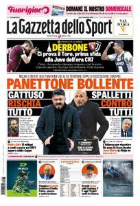 La Gazzetta dello Sport Roma – 15 dicembre 2018