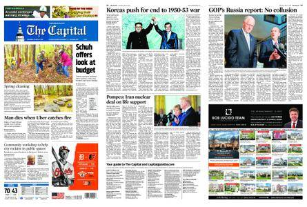 The Capital – April 28, 2018