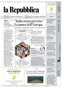 la Repubblica - 23 Febbraio 2018
