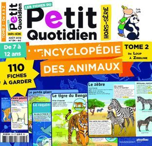Les Fiches du Petit Quotidien - août 2018