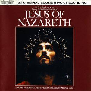 Maurice Jarre - Jesus Of Nazareth: Original Soundtrack (1977) Reissue 2001