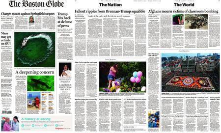 The Boston Globe – August 17, 2018