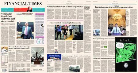 Financial Times Europe – 15 November 2017