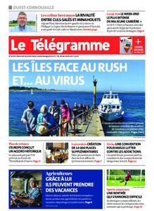 Le Télégramme Ouest Cornouaille – 22 juillet 2020