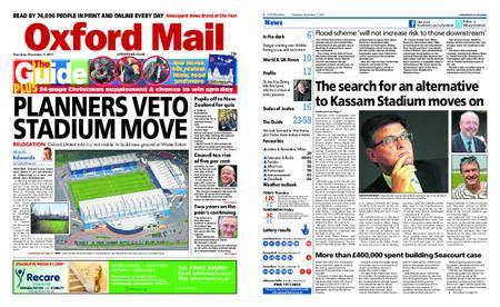 Oxford Mail – December 07, 2017