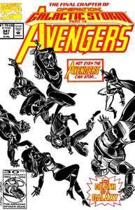 Captain America v1 400e The Avengers 347
