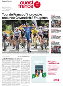 Ouest-France Édition France – 30 juin 2021