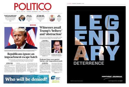 Politico – December 05, 2019