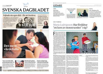 Svenska Dagbladet – 04 augusti 2019