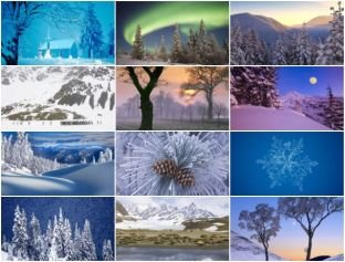 Webshots - Winter Scenes - Wide Screen (WS)