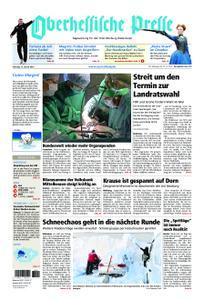 Oberhessische Presse Marburg/Ostkreis - 12. Januar 2019