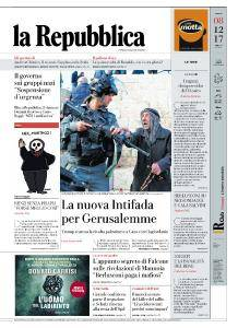 la Repubblica - 8 Dicembre 2017