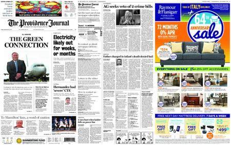 The Providence Journal – September 22, 2017