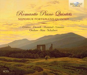Nepomuk Fortepiano Quintet - Romantic Piano Quintets (2012) (Repost)