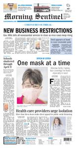 Morning Sentinel – March 25, 2020