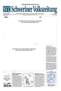 Schweriner Volkszeitung Hagenower Kreisblatt - 08. Mai 2020