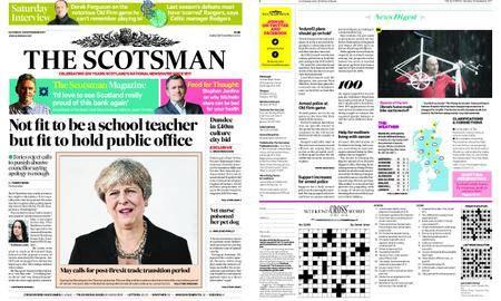 The Scotsman – September 23, 2017