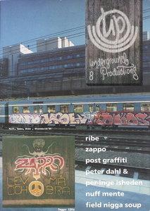 Underground Productions Graffiti Magazine Issue 08