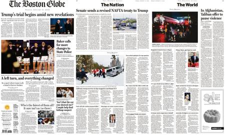The Boston Globe – January 17, 2020