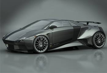 2007 Lamborghini Embolado Concept (Luca Serafini)