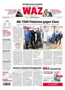 WAZ Westdeutsche Allgemeine Zeitung Oberhausen-Sterkrade - 14. Januar 2019