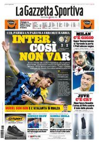 La Gazzetta dello Sport Roma – 01 novembre 2020