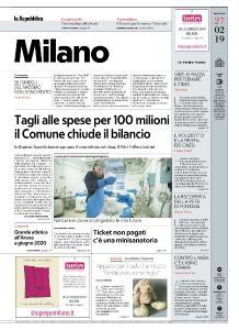 la Repubblica Milano - 27 Febbraio 2019