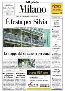 la Repubblica Milano - 10 Maggio 2020