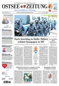 Ostsee Zeitung Grevesmühlener Zeitung - 10. Oktober 2019