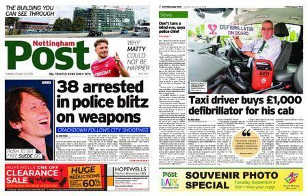 Nottingham Post – August 21, 2018
