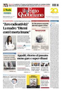 Il Fatto Quotidiano - 22 marzo 2019