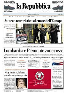 la Repubblica - 3 Novembre 2020