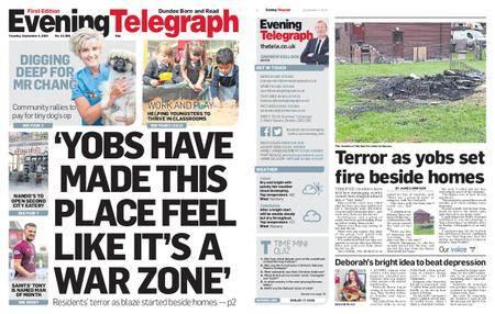Evening Telegraph First Edition – September 04, 2018