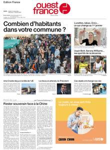 Ouest-France Édition France – 31 décembre 2019
