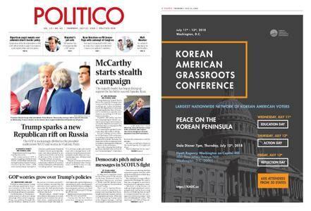 Politico – July 12, 2018