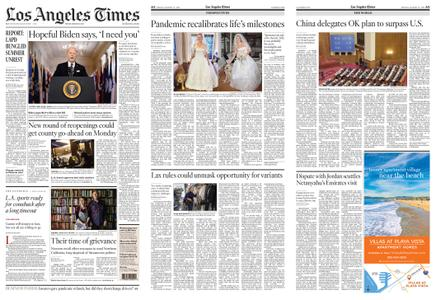 Los Angeles Times – March 12, 2021