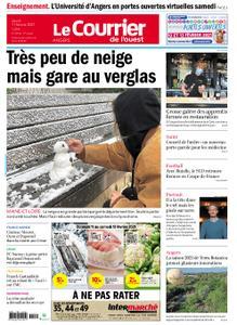 Le Courrier de l'Ouest Angers – 11 février 2021