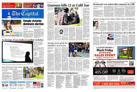 The Capital – November 09, 2018