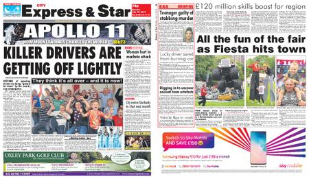 Express and Star City Edition – July 15, 2019